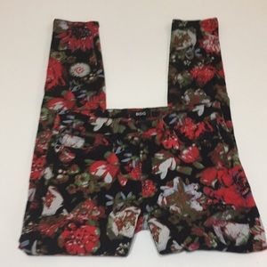 BDG mid rise twig floral jeans